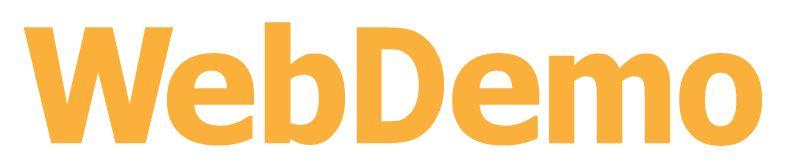 ロゴ:株式会社ウェブデモ